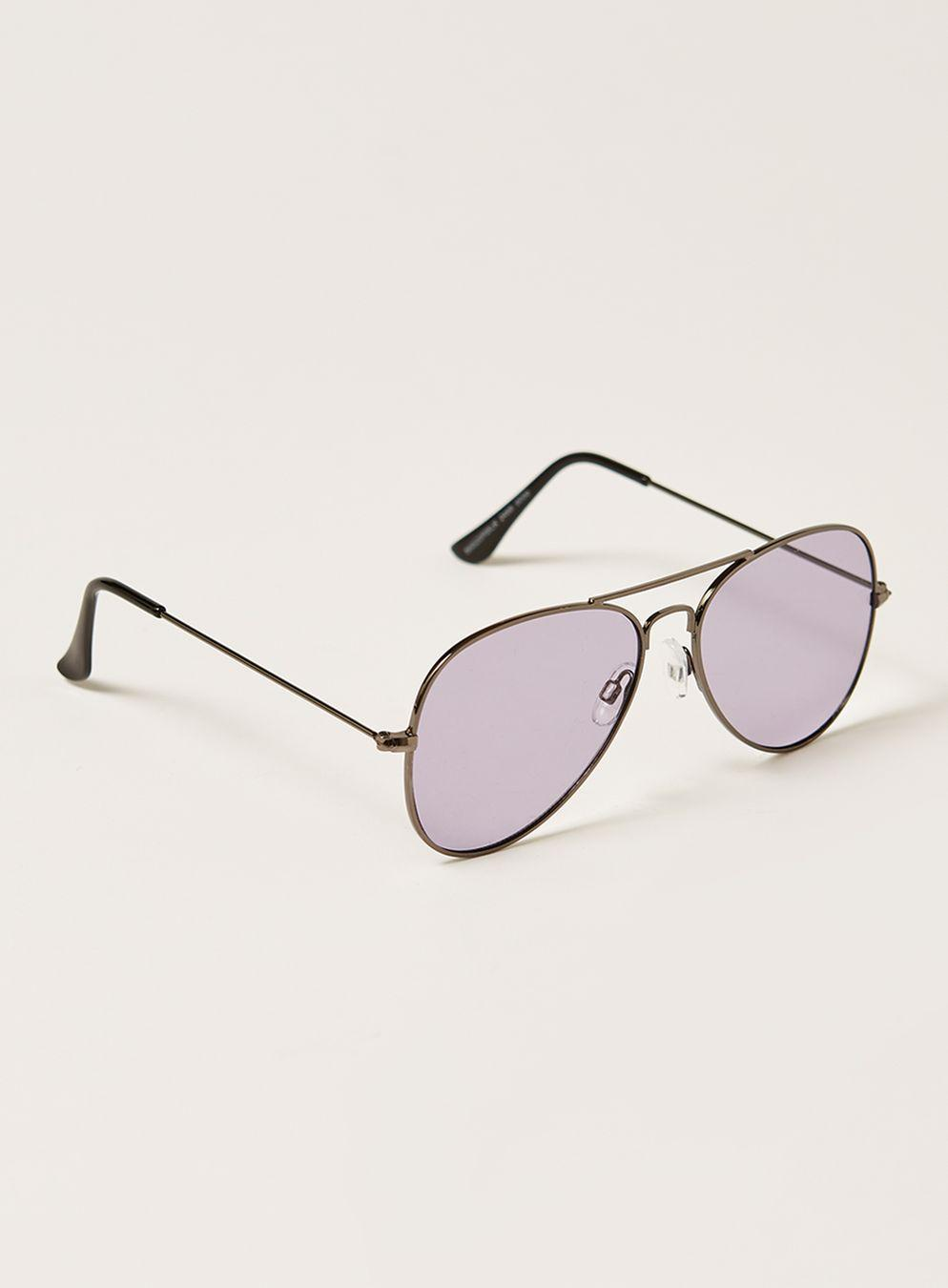 c7f0580922fe4 Lyst - TOPMAN With Lilac Hunter Sungla in Black for Men