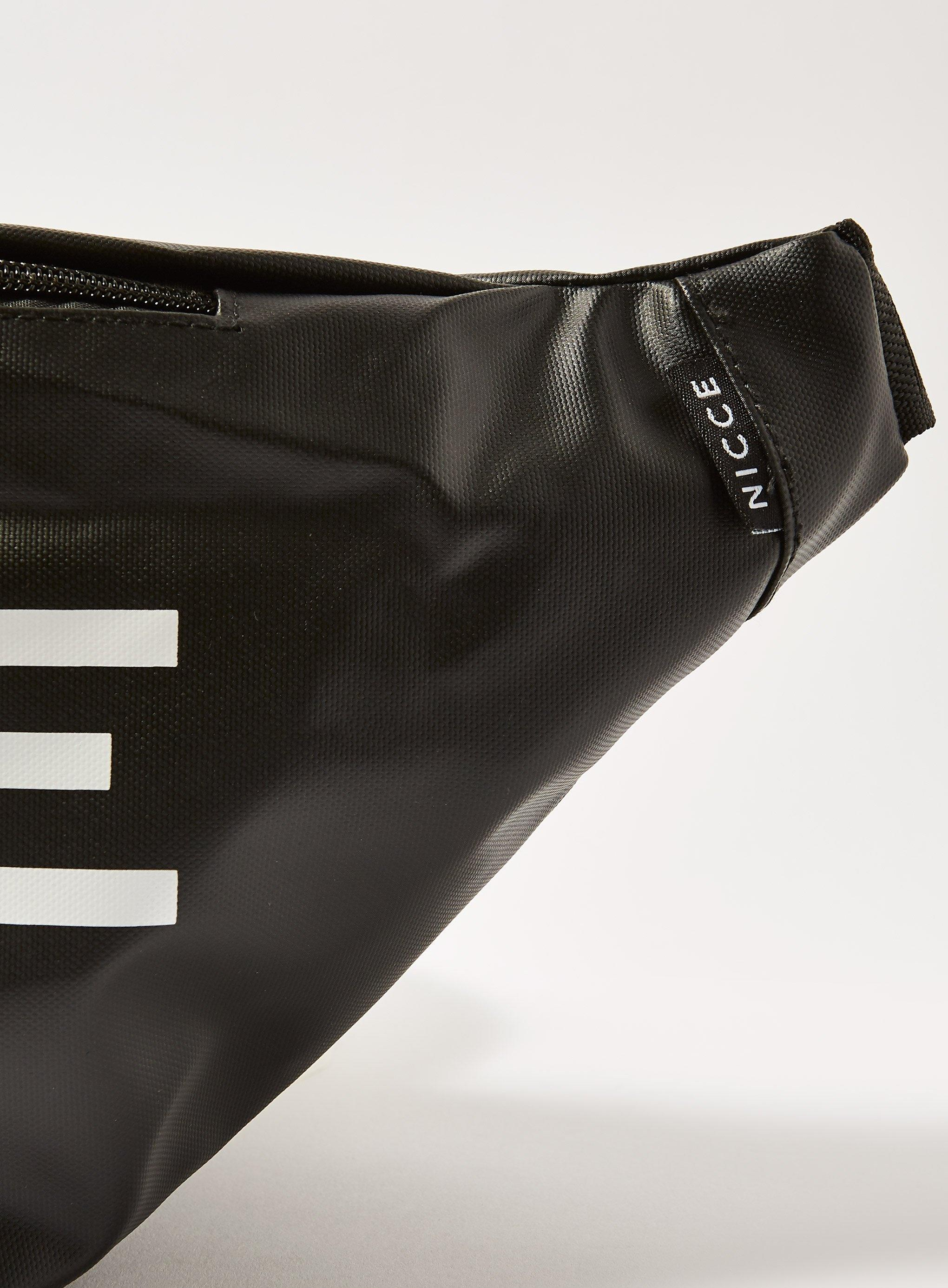 Topman - Black Nicce zero  Large Logo Cross Body Bag for Men - Lyst. View  fullscreen 57d3658a6d0c9