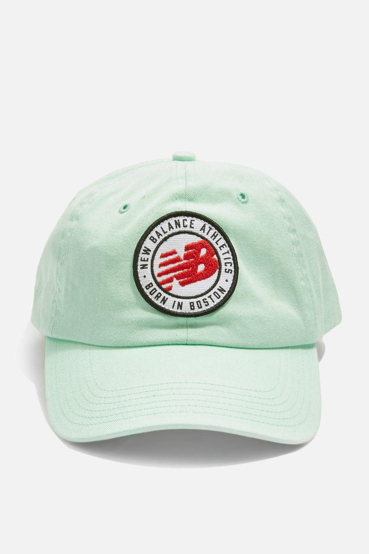 c1637c30cb6 Lyst - New Balance Curve Brim Logo Cap By in Green