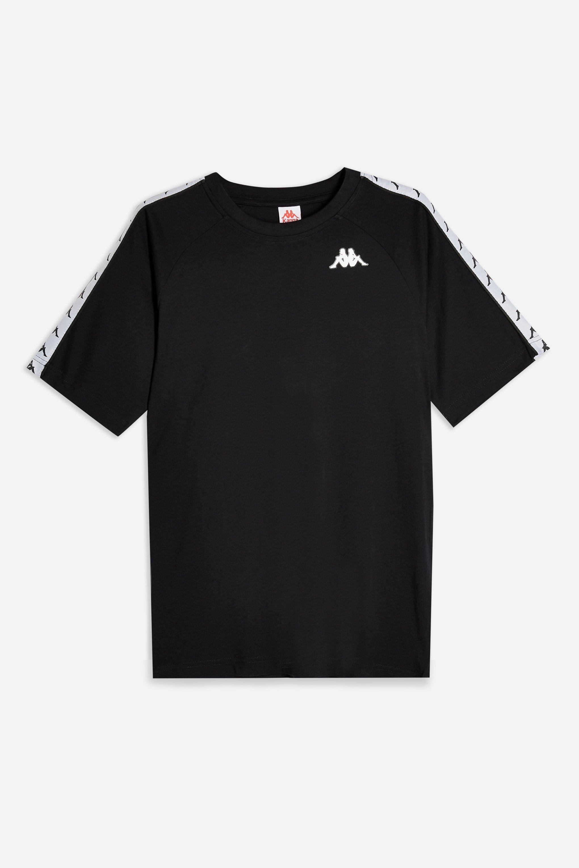 94c3aee513 Lyst - Kappa Banda Tape T-shirt By in Black