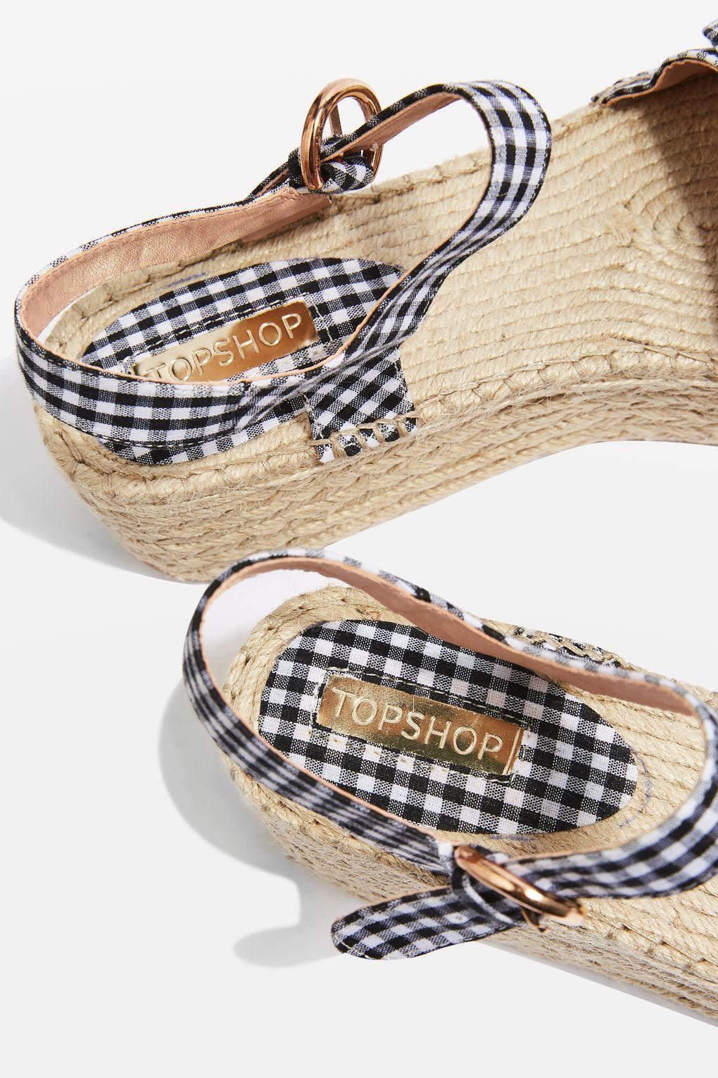 36bfd1e0e3c TOPSHOP Wendy Bow Wedges - Lyst