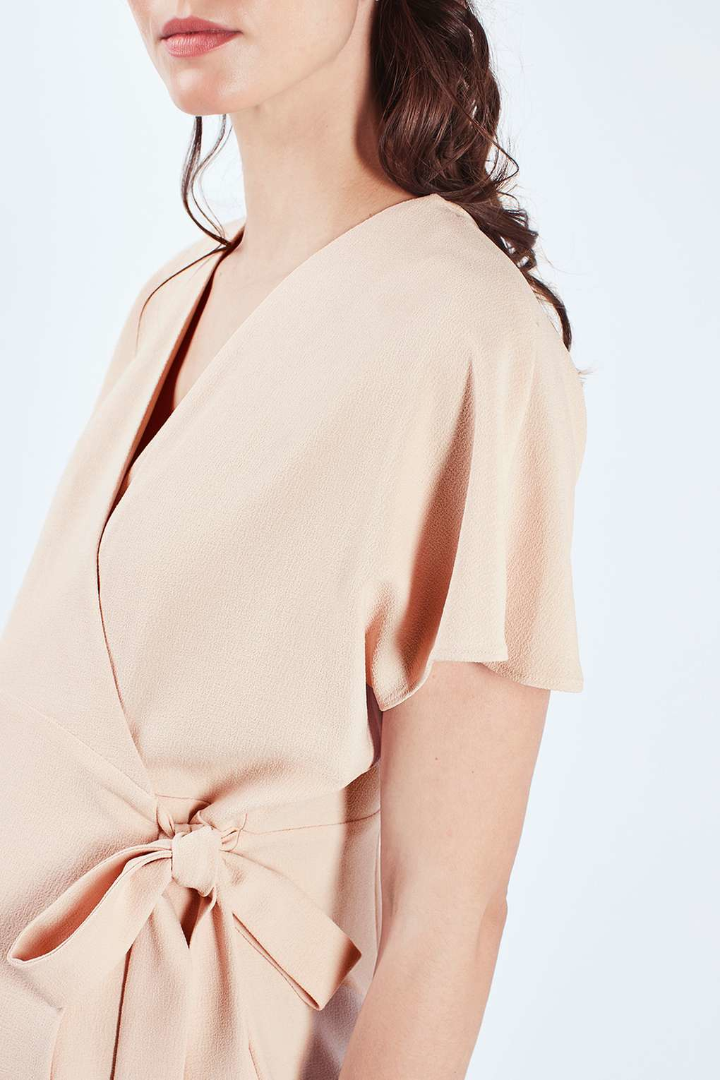 Lyst topshop maternity wrap midi dress in natural gallery ombrellifo Image collections