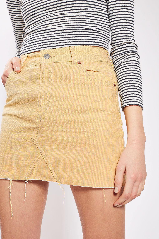 4d2d54372db713 MOTO Embellished Denim Mini Skirt | Topshop