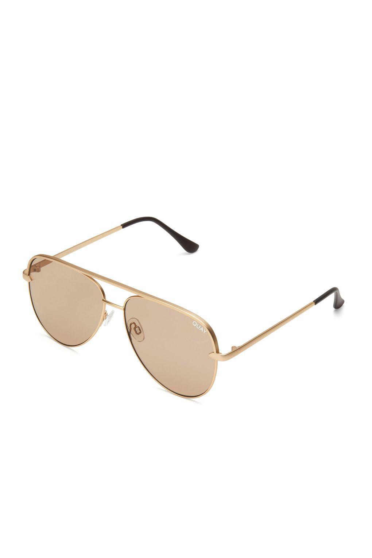 Topshop Square Frame Sunglasses by Quay x Desi IZeLJ