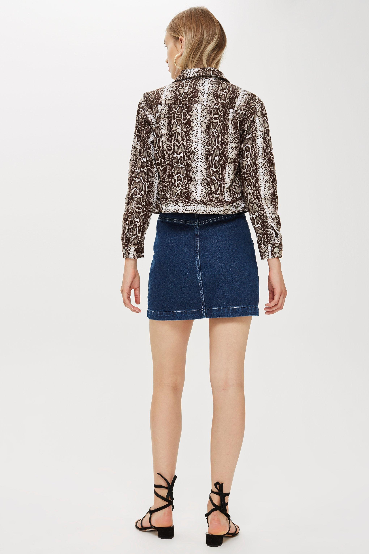 8c9ccfcba7 Topshop Button Up Denim Skirt – DACC