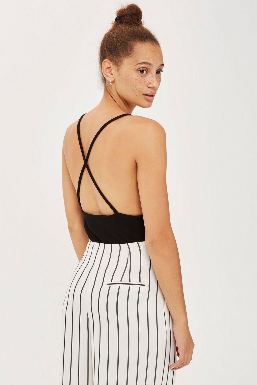 Oh My Love Plunge Bodysuit Oml in Black - Lyst cedec05e8