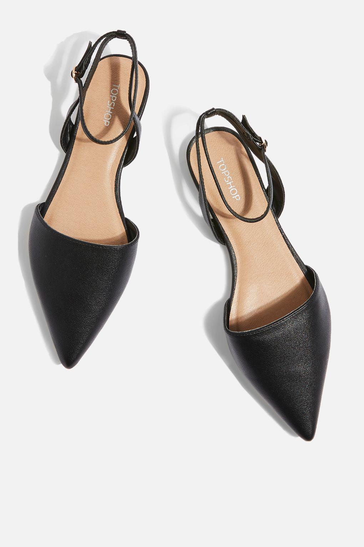 Topshop Two Part ointed Shoes jo6mP4vIJ