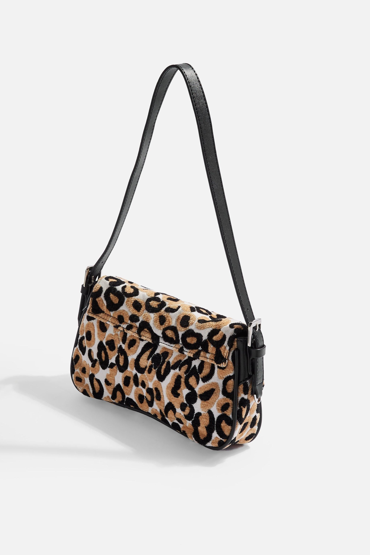 bfe24ff77df4 TOPSHOP Zambia Flap Shoulder Bag - Lyst
