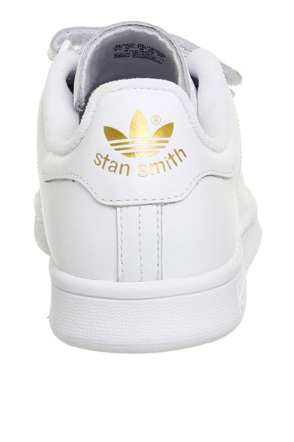 5eff6f822fa Office Adidas Stan Smith Cf Trainers in White - Lyst