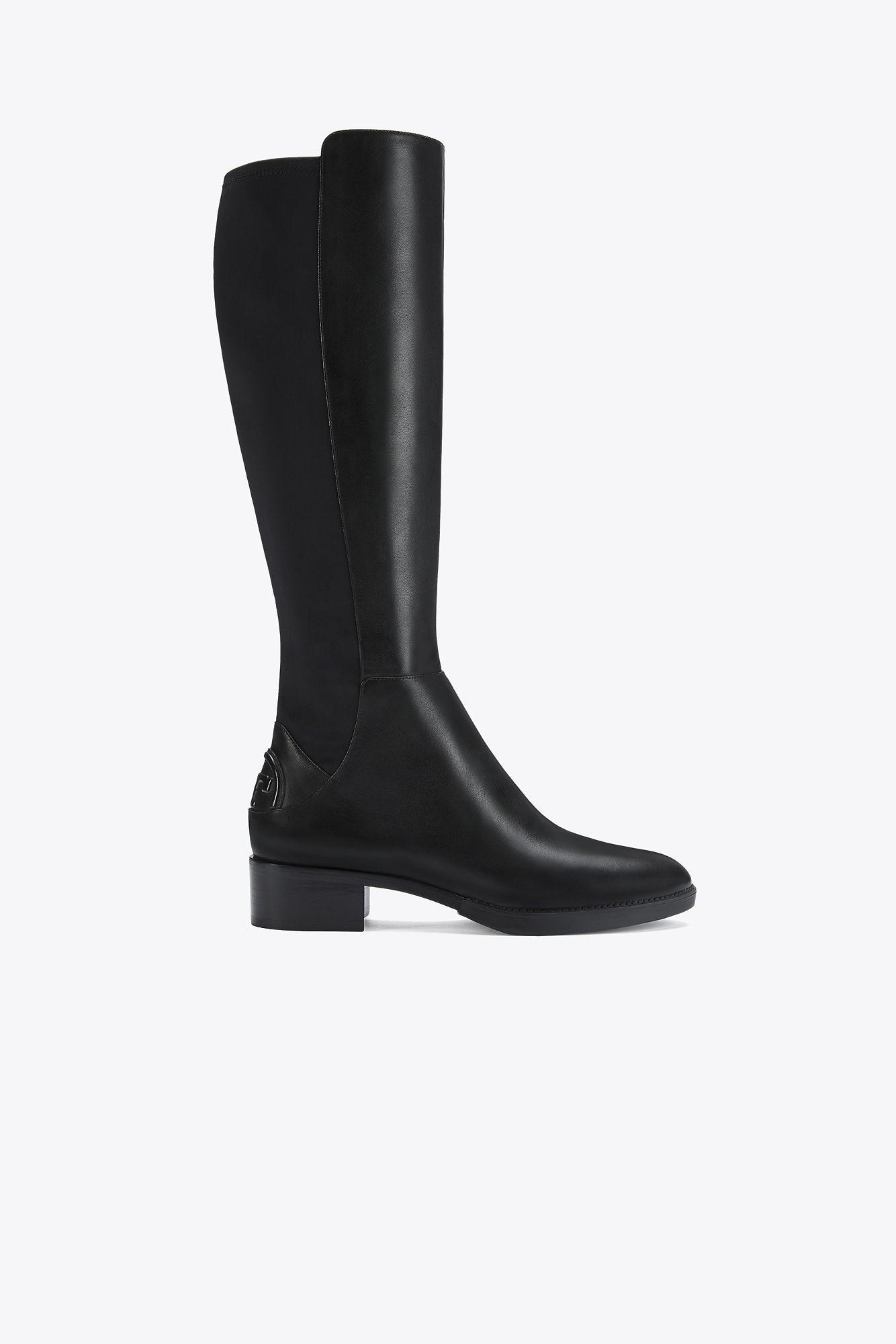 2d19e929085 Tory Burch Caitlin Stretch Boot in Black - Lyst