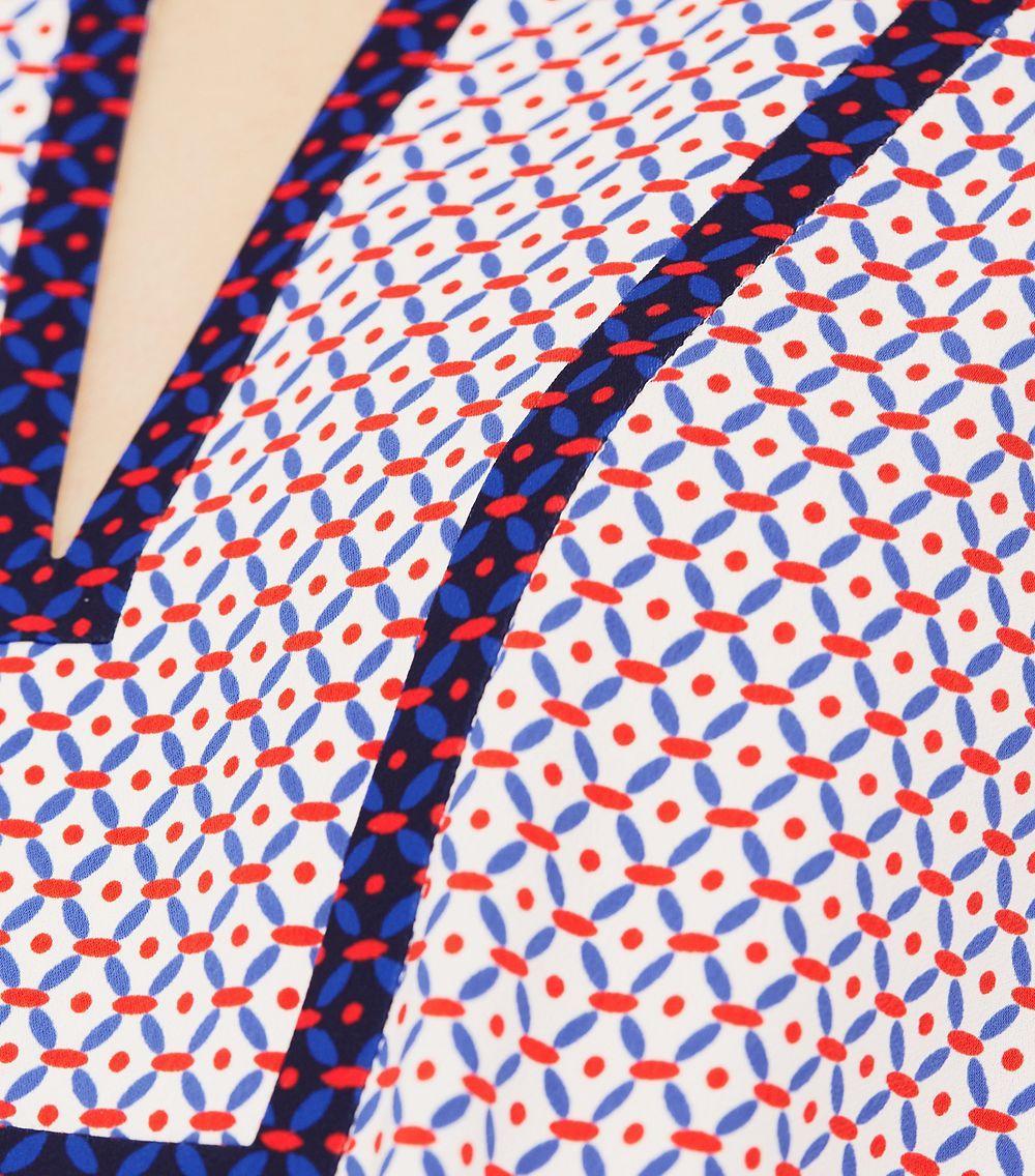 fcc6c0c71a1 Tory Burch Gabby Tunic Dress - Lyst