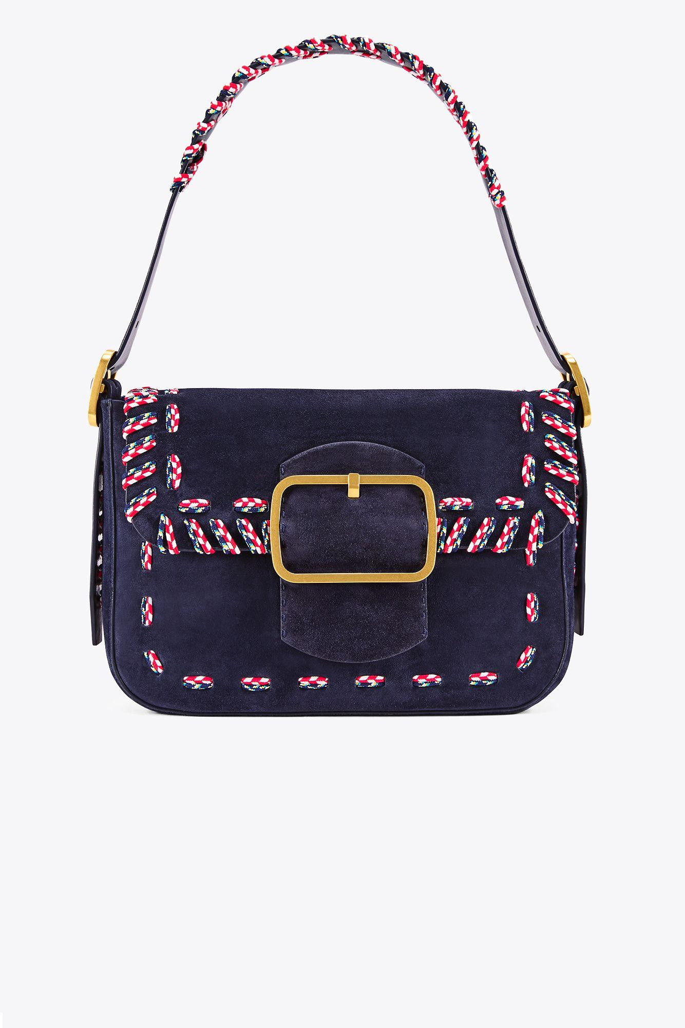 3a8b2182abaa Lyst - Tory Burch Sawyer Stitch Shoulder Bag