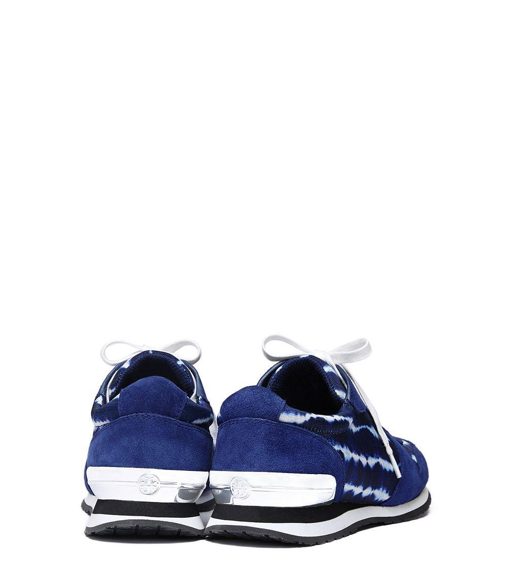 6cced0c5744 Lyst - Tory Burch Brielle Sneaker in Blue