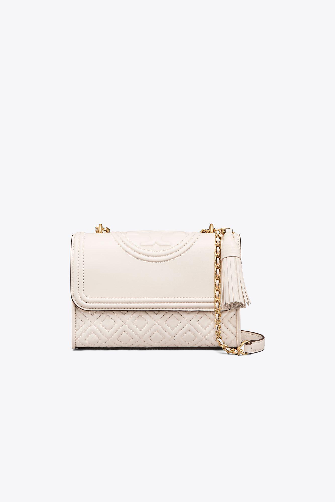 716a17b17840 Lyst - Tory Burch Fleming Convertible Shoulder Bag - Save 31%