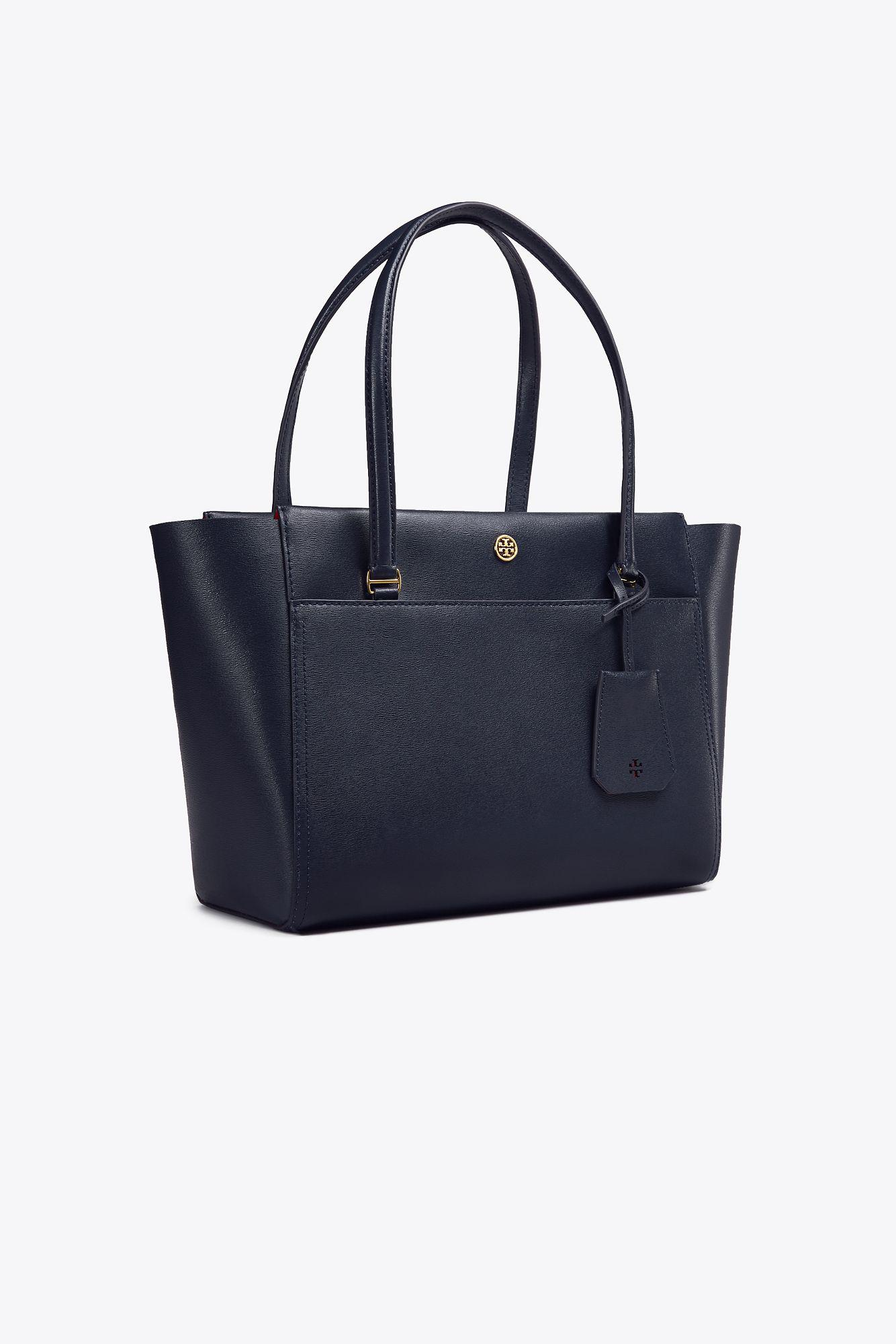 f89533bfd6d Lyst - Tory Burch Parker Small Tote in Blue