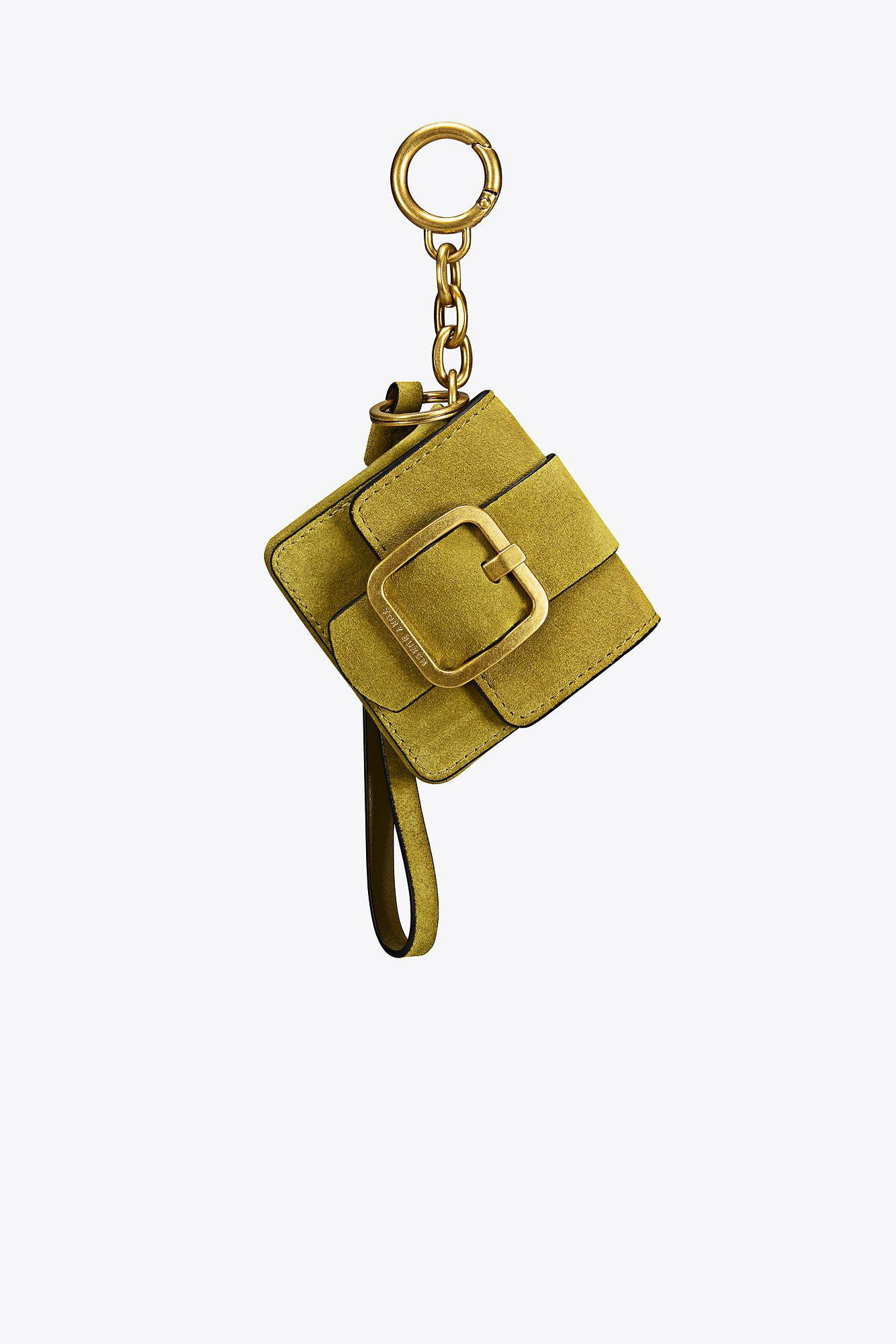 46ce2ecece9a Lyst - Tory Burch Sawyer Mini Bag Key Fob