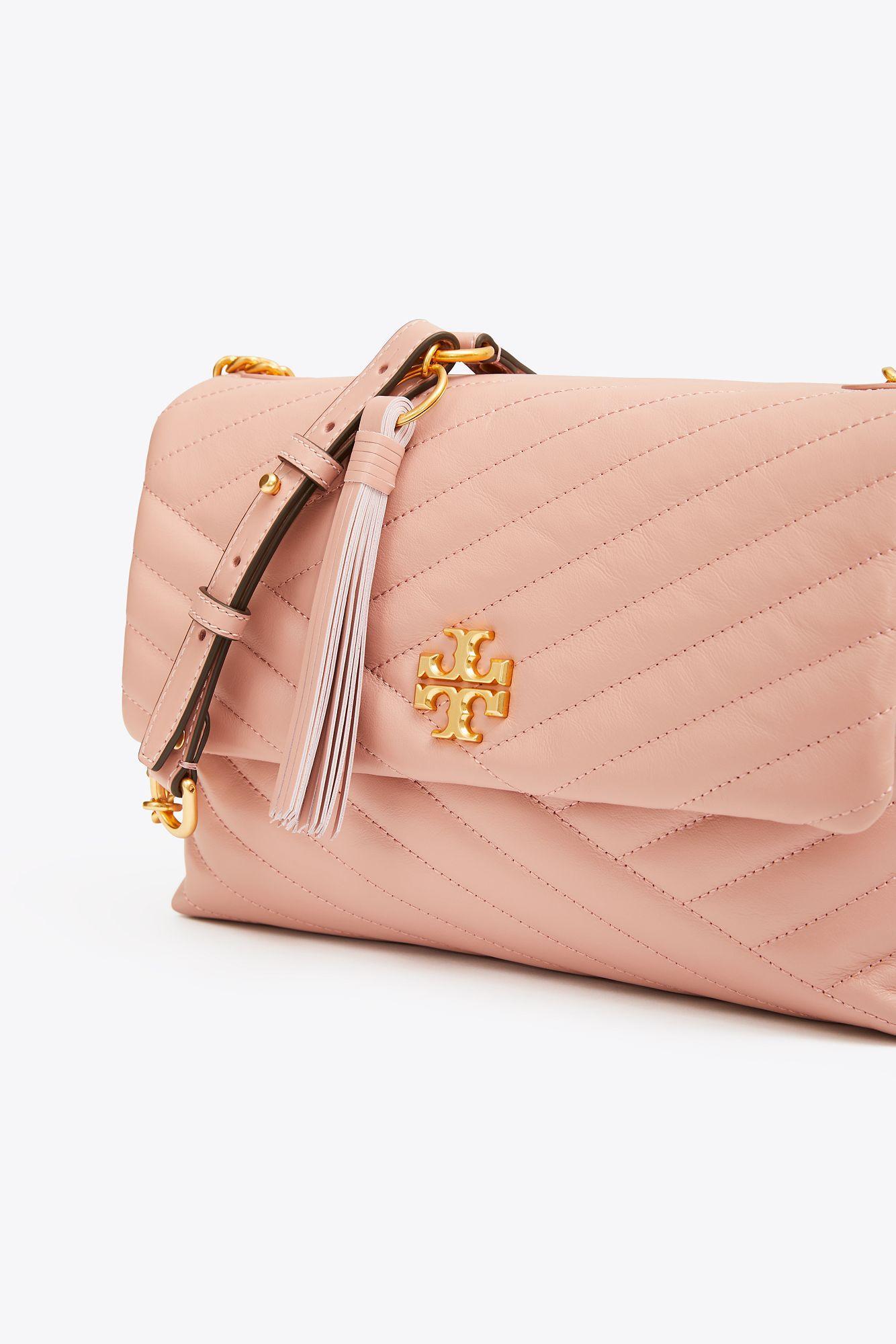 fefd3b370905 Tory Burch - Pink Kira Chevron Flap Shoulder Bag - Lyst. View fullscreen