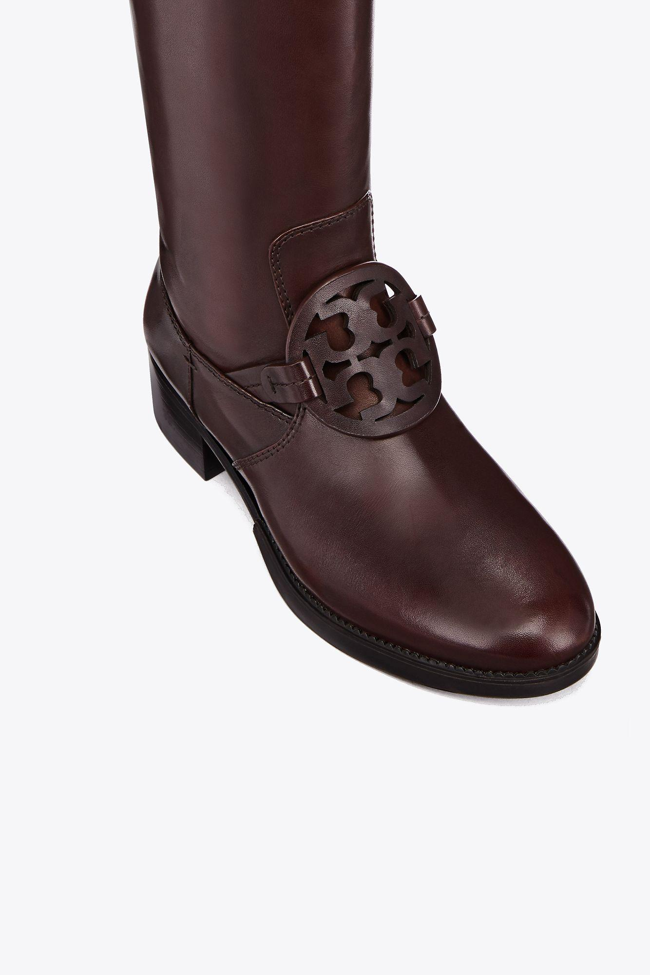 67dec9bc83d Tory Burch Miller Pull-on Boot in Brown - Lyst