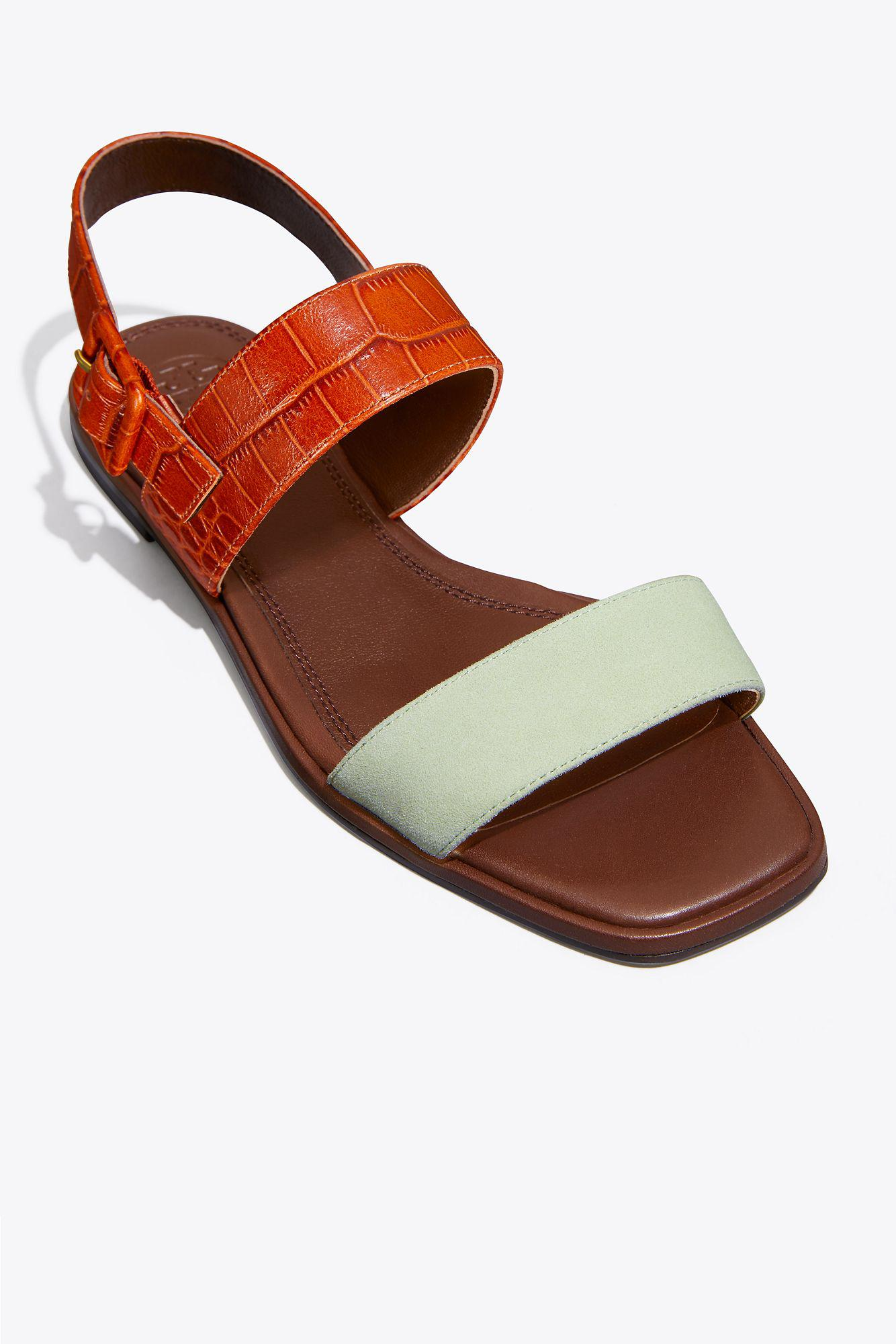outlet choice discount cheap online DELANEY COLOR-BLOCK FLAT SANDAL 258 outlet cheap quality cheapest price cheap online free shipping amazing price KjcBihp
