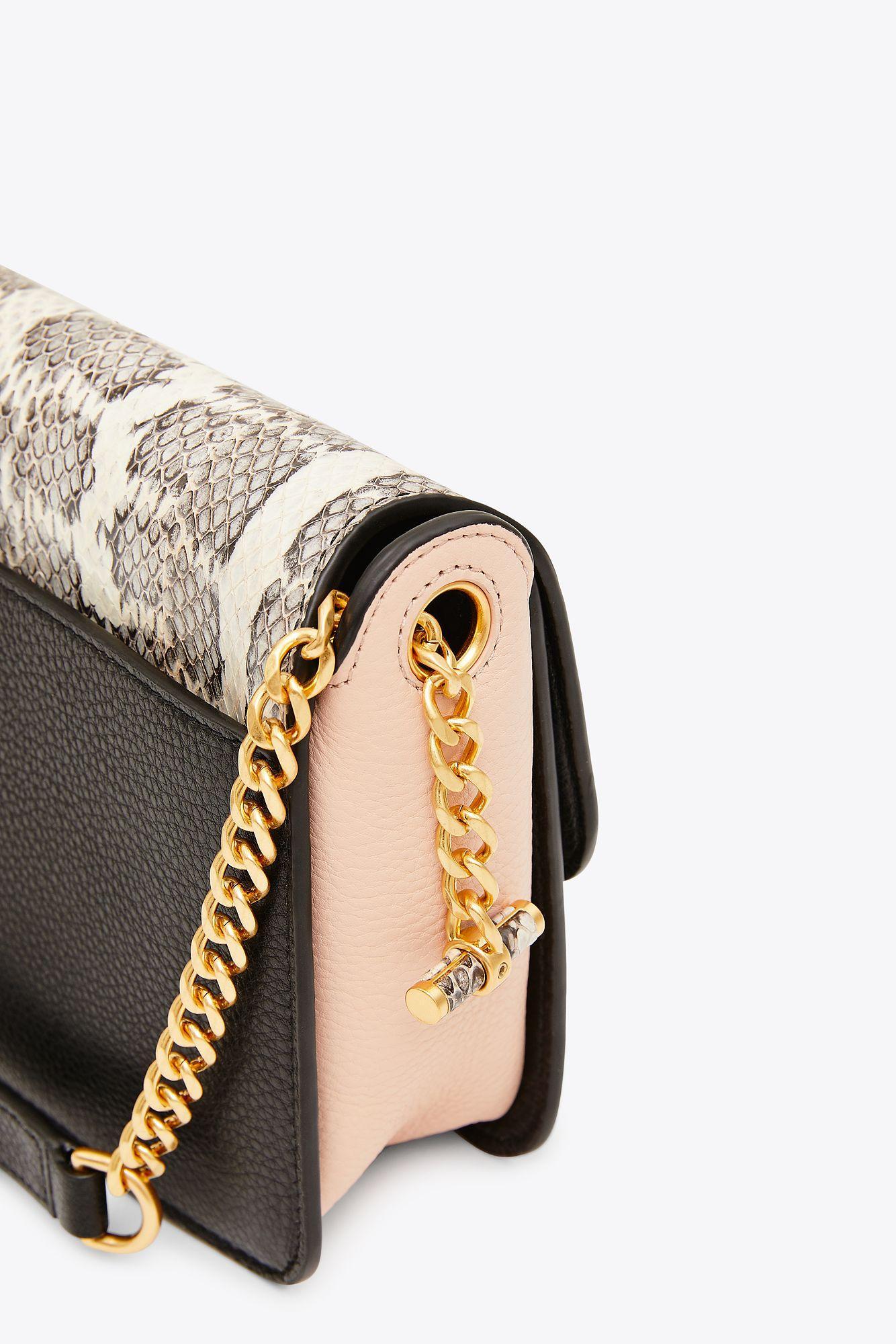 61043ad01b Tory Burch Chelsea Colorblock Snake Crossbody   019   Crossbody Bags ...