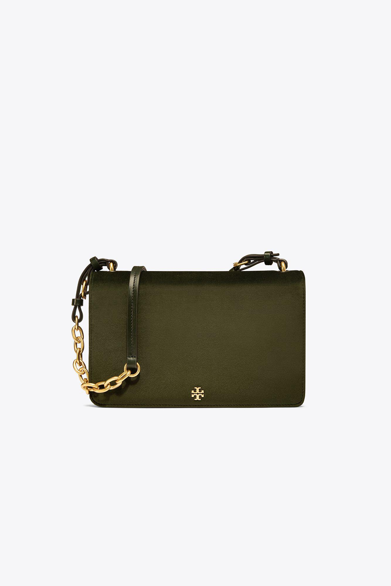 4764fe7fc7e Lyst - Tory Burch Sadie Velvet Shoulder Bag