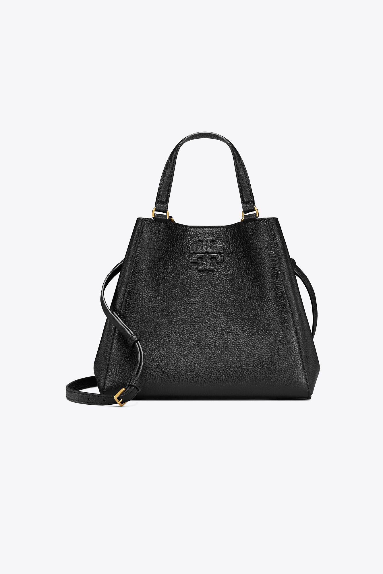 db6925461db0 Lyst - Tory Burch Mcgraw Small Carryall in Black