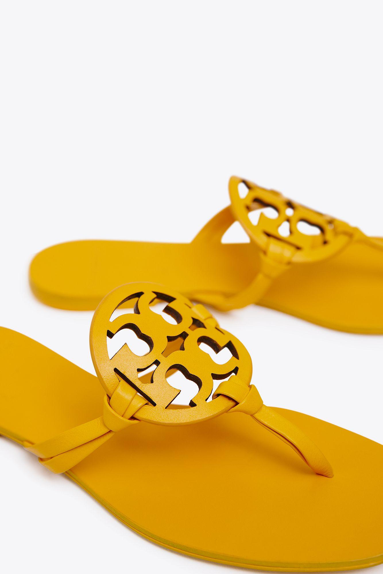 0ea22b985891f Tory Burch - Yellow Miller Square Toe
