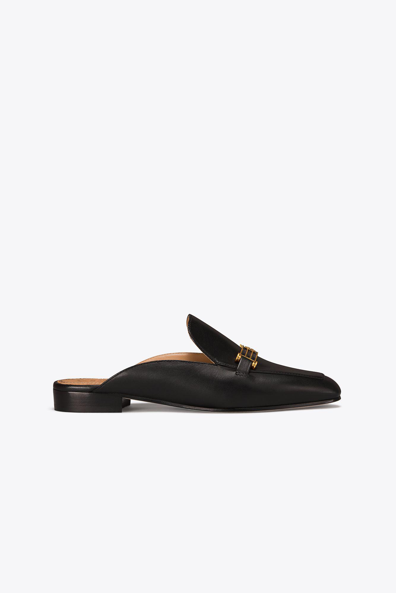 7a30bf8d9b6 Tory Burch Amelia Backless Loafer in Black - Lyst