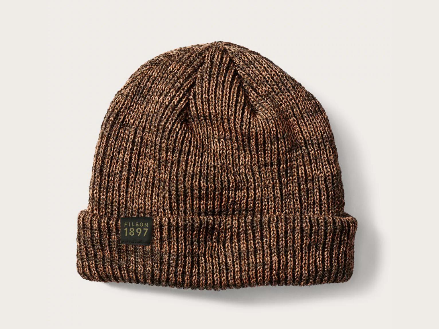 a57013993 Totem Brand Co. Filson Watch Cap Beanie in Brown - Lyst