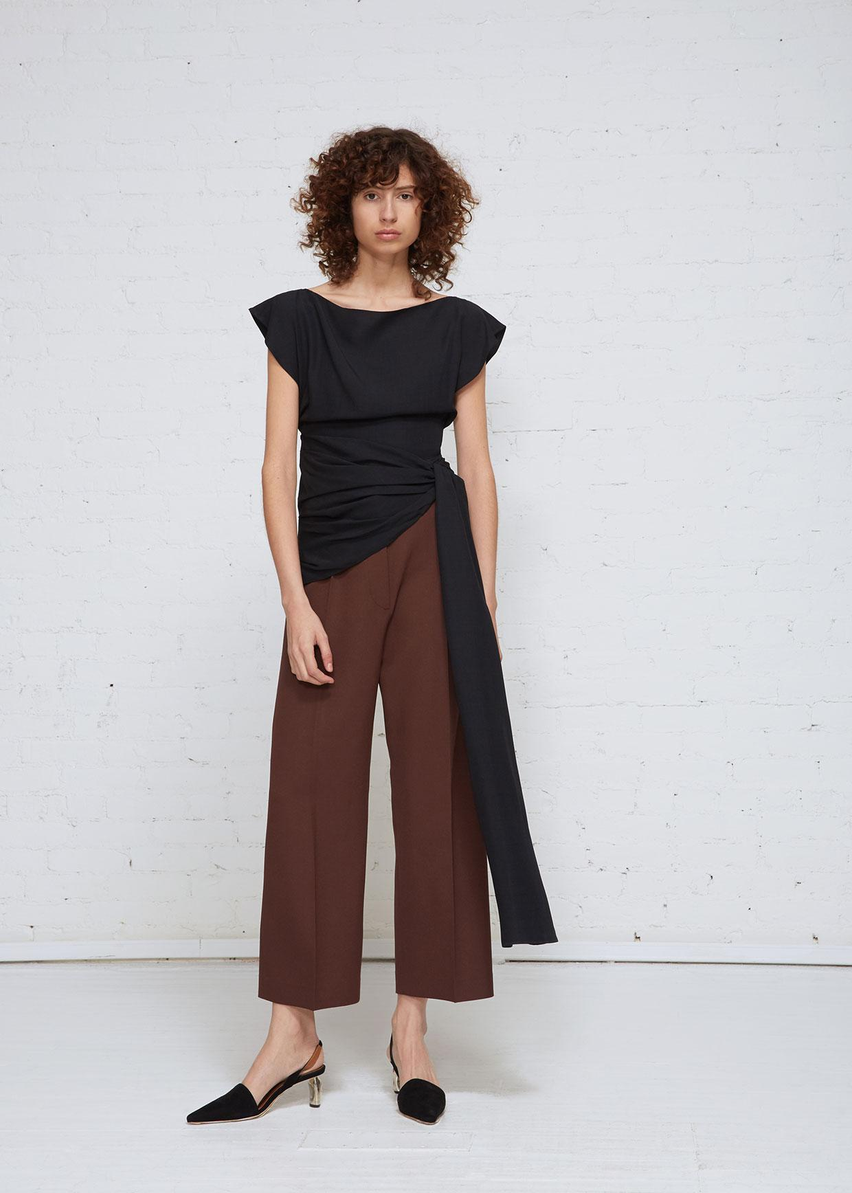Black Le Haut Espiral Blouse Jacquemus Clearance Popular In China Cheap Price Outlet Clearance Outlet Visit New Cheap Sale Nicekicks 8Lk31D7j