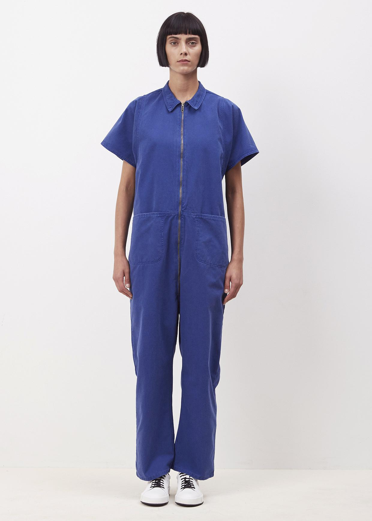 4afe11d82382 Lyst - Rachel Comey Gitane Barrie Jumpsuit in Blue