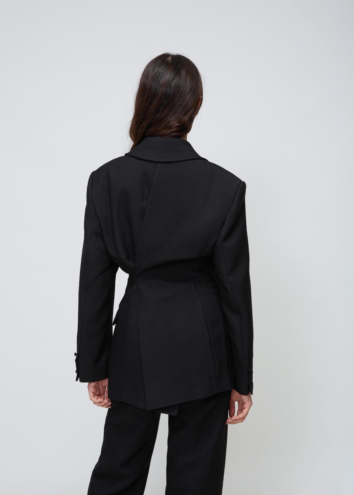 0ff6ff8834da De La In Jacquemus Costume Veste Black Lyst IPx4qwZpOq