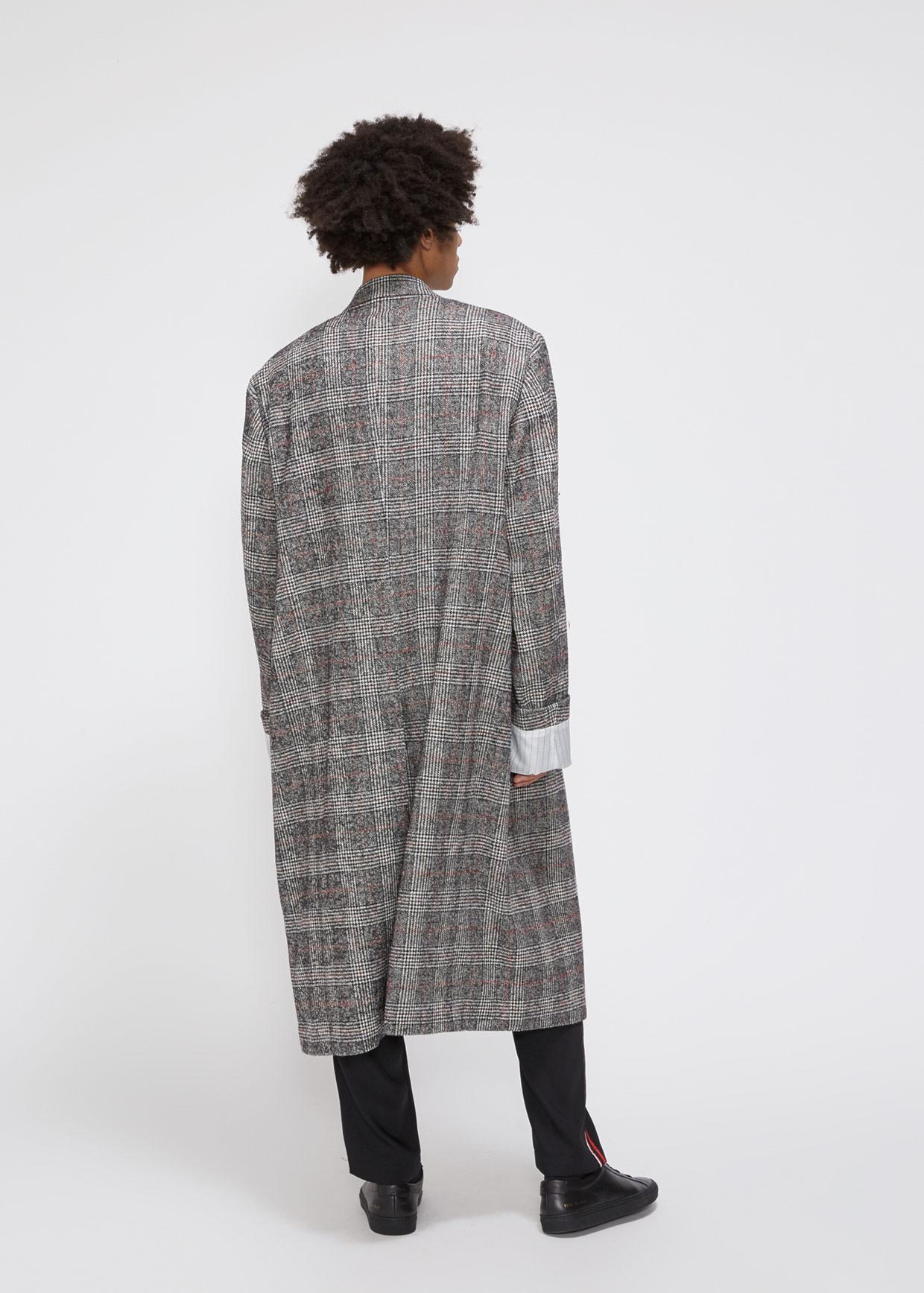 3d4dc069efd5 Lyst - Cmmn Swdn Ruben Double-breasted Coat in Gray for Men