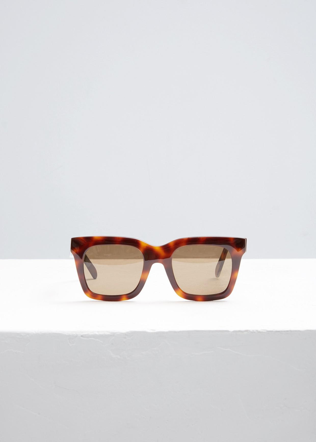 9d730990061 Lyst - Céline 41411 f s Sunglasses in Brown for Men