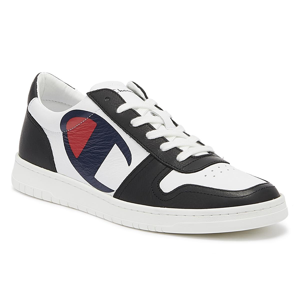 b8252e6cc Lyst - Champion 919 Roch Low Mens White   Black Trainers in White ...