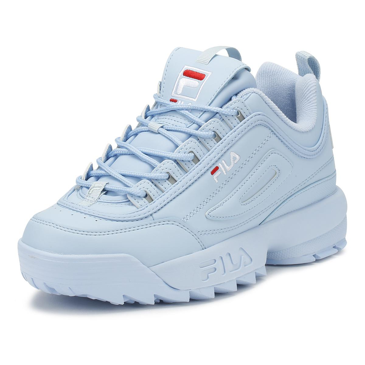 2ff6eba9e0d9 separation shoes 09416 b2244 Lyst - Fila Disruptor Ii Premium Womens Angel  Falls Blue Tra .