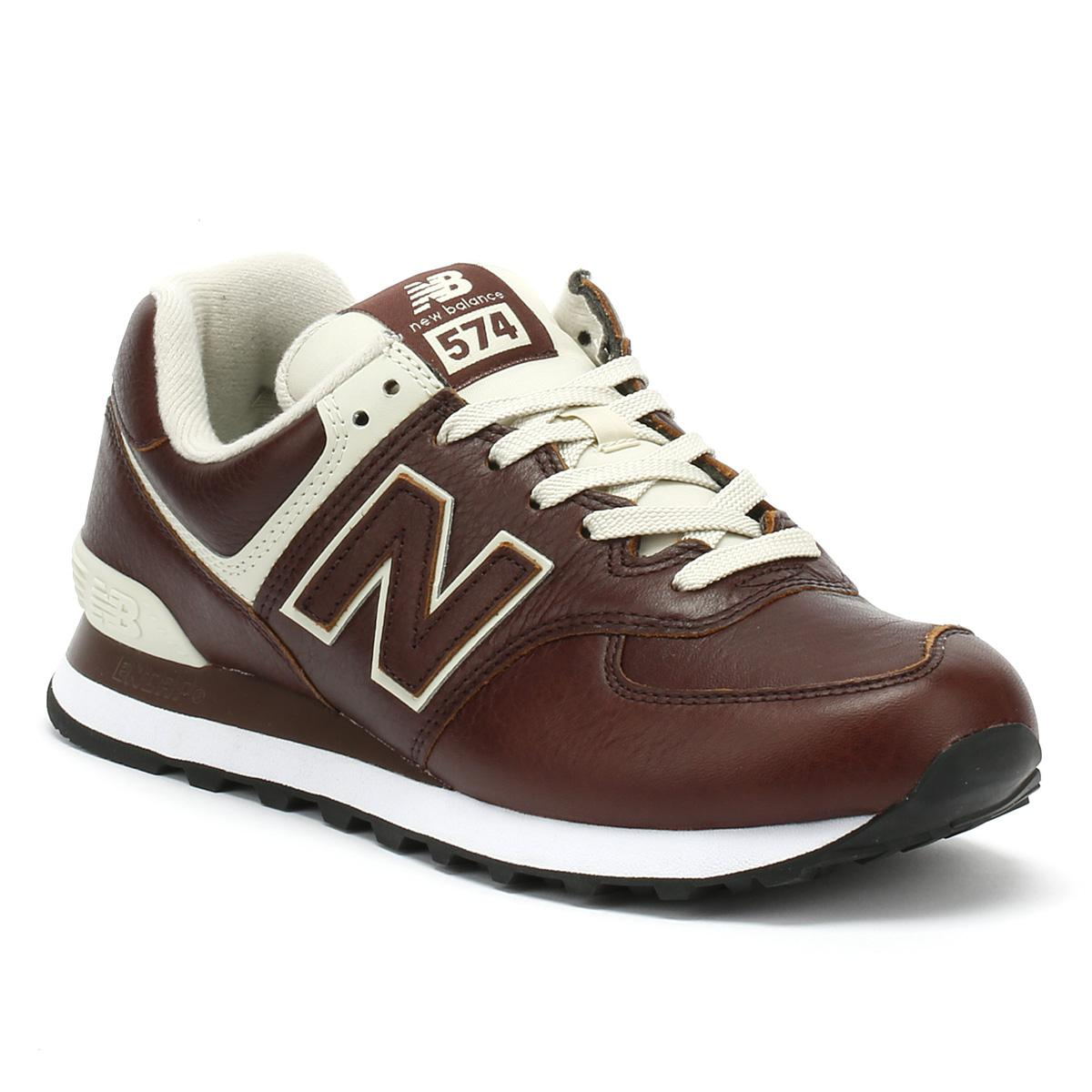 new concept 49ba1 2d3cc New Balance Mens Cabernet Red / White 574 Trainers for Men ...