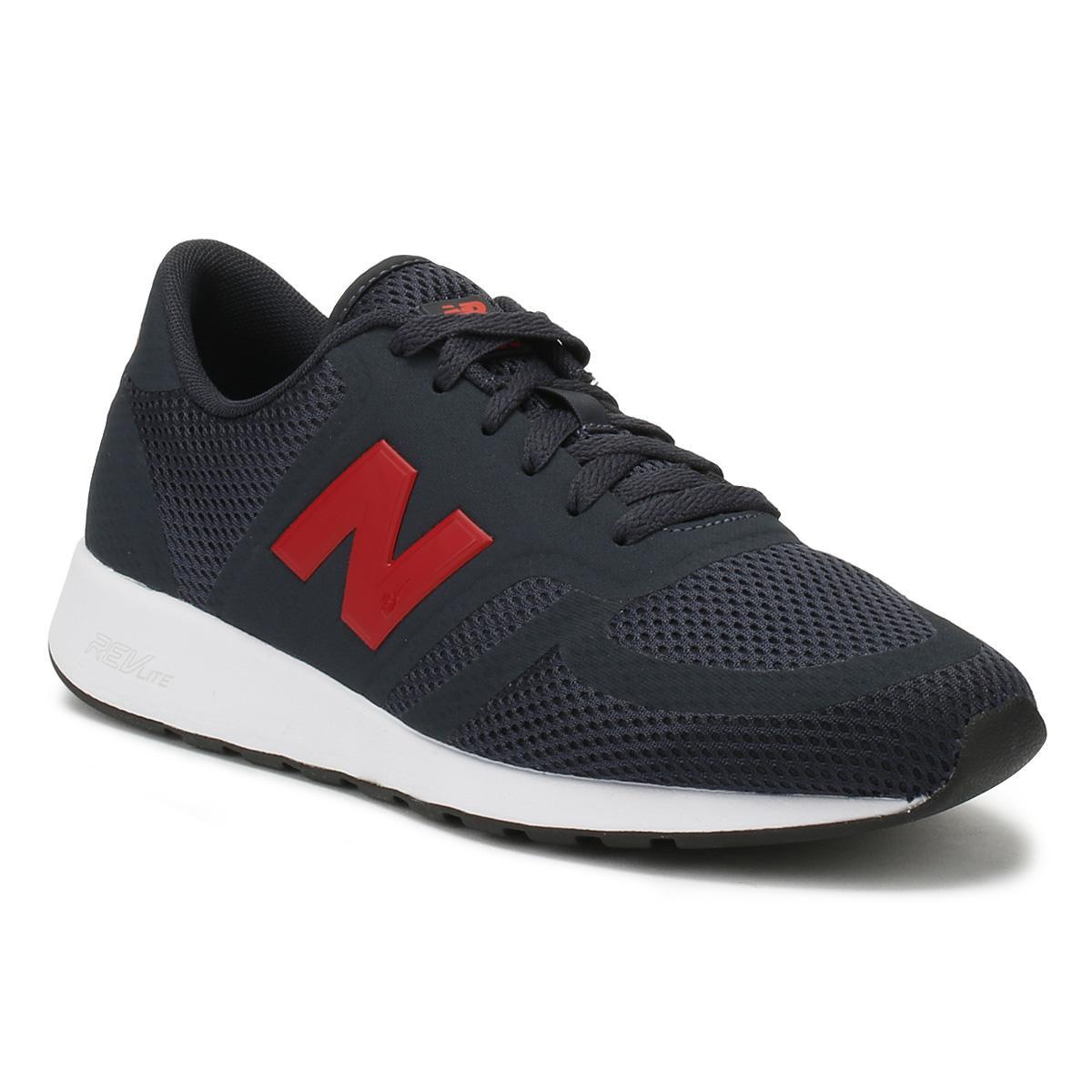 new balance navy red