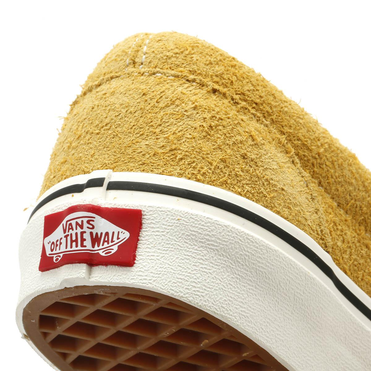 e694e23df9d Vans - Natural Classic Slip On Hairy Suede Mens Sunflower Beige Trainers  for Men - Lyst. View fullscreen