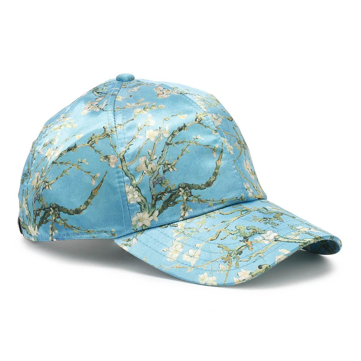 06abe3a2 Vans Van Gogh Almond Blossoms Blue Snapback Cap in Blue for Men - Lyst