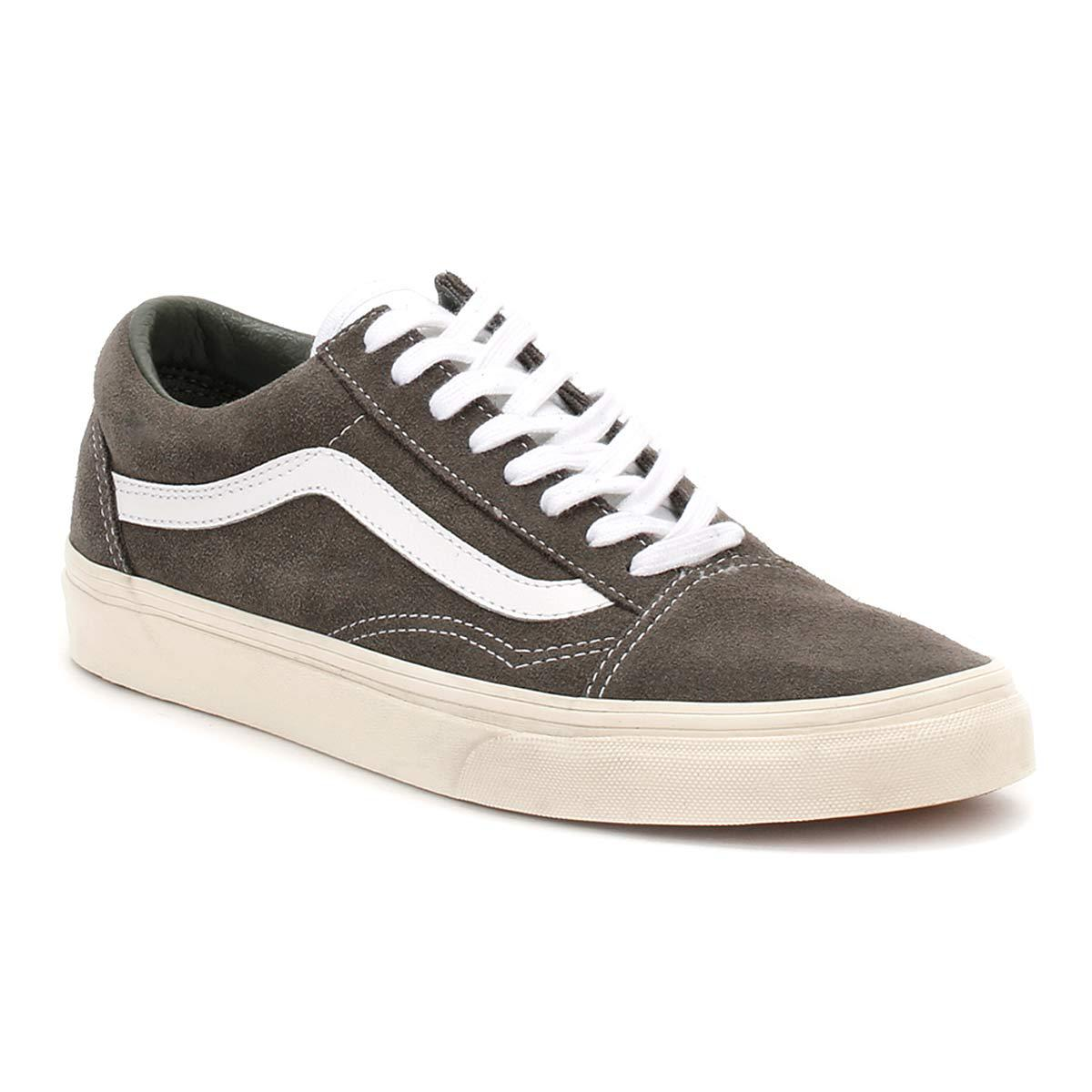 Vans Mens Gunmetal Grey Retro Sport Old Skool Trainers in Gray for ... abc84b5e7