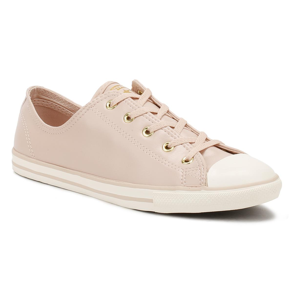 34191e7c62f Converse Chuck Taylor All Star Womens Dusk Pink Dainty Ox Trainers ...