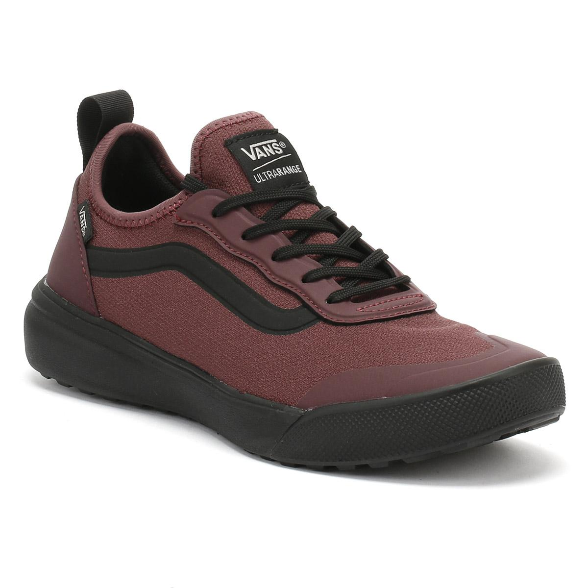18e7e9092b Lyst - Vans Catawba Grape Burgundy   Black Ultrarange Ac Trainers ...