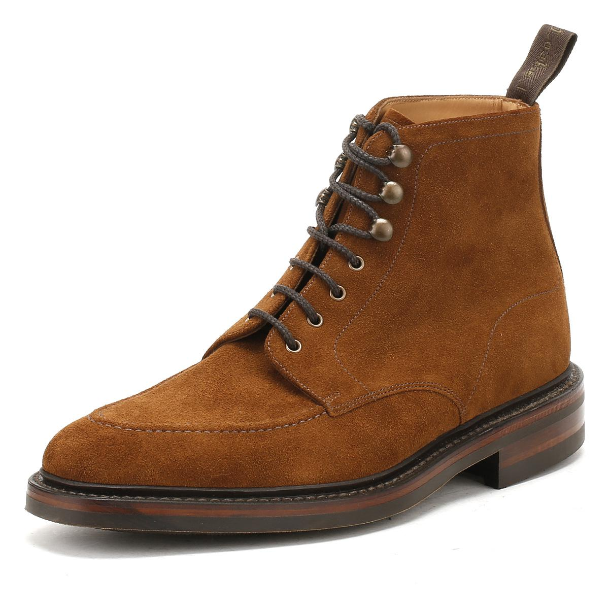 Lyst Loake Mens Tan Suede Anglesey Boots In Brown For Men