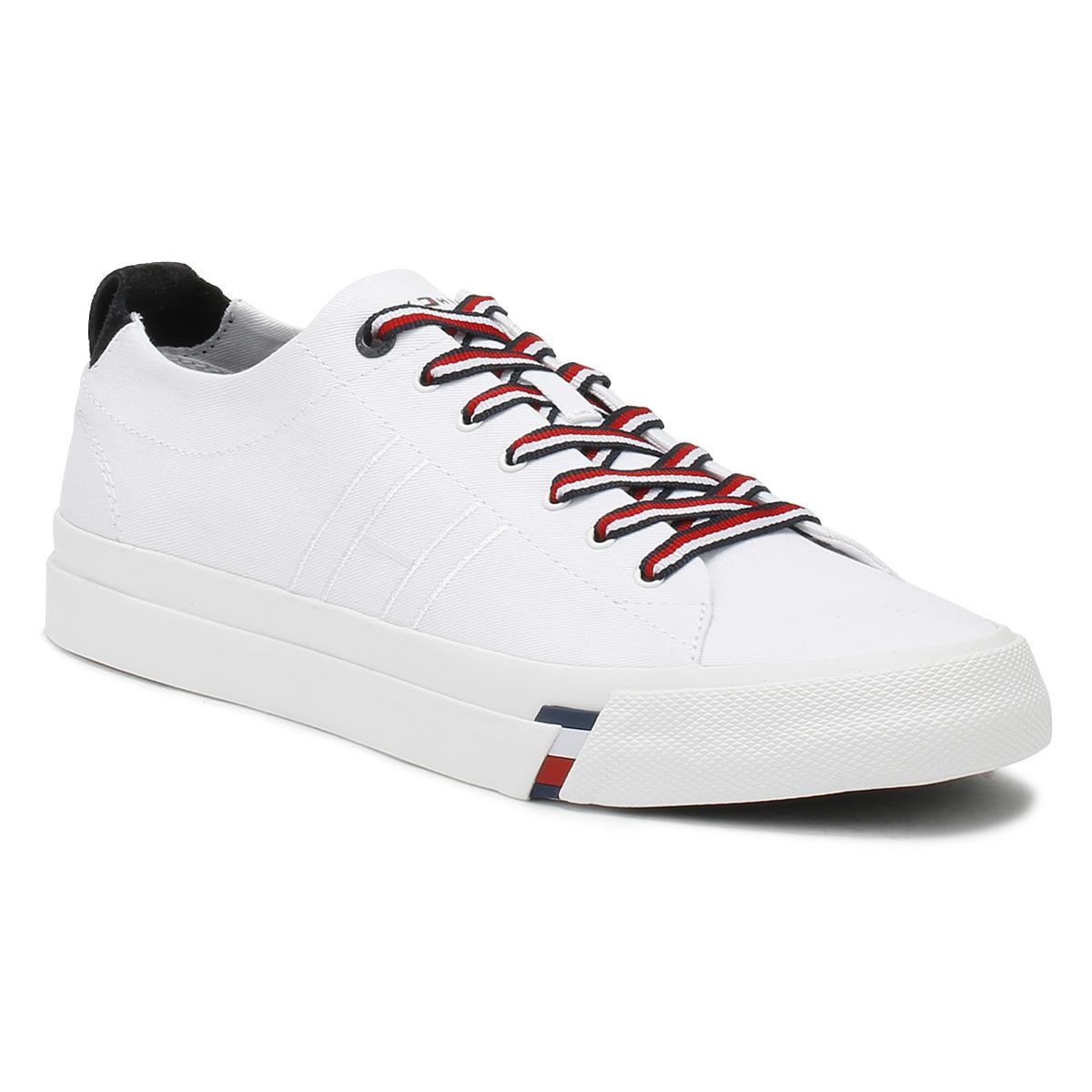 247a20218 Tommy Hilfiger Mens White Dino 1d Trainers in White for Men - Lyst
