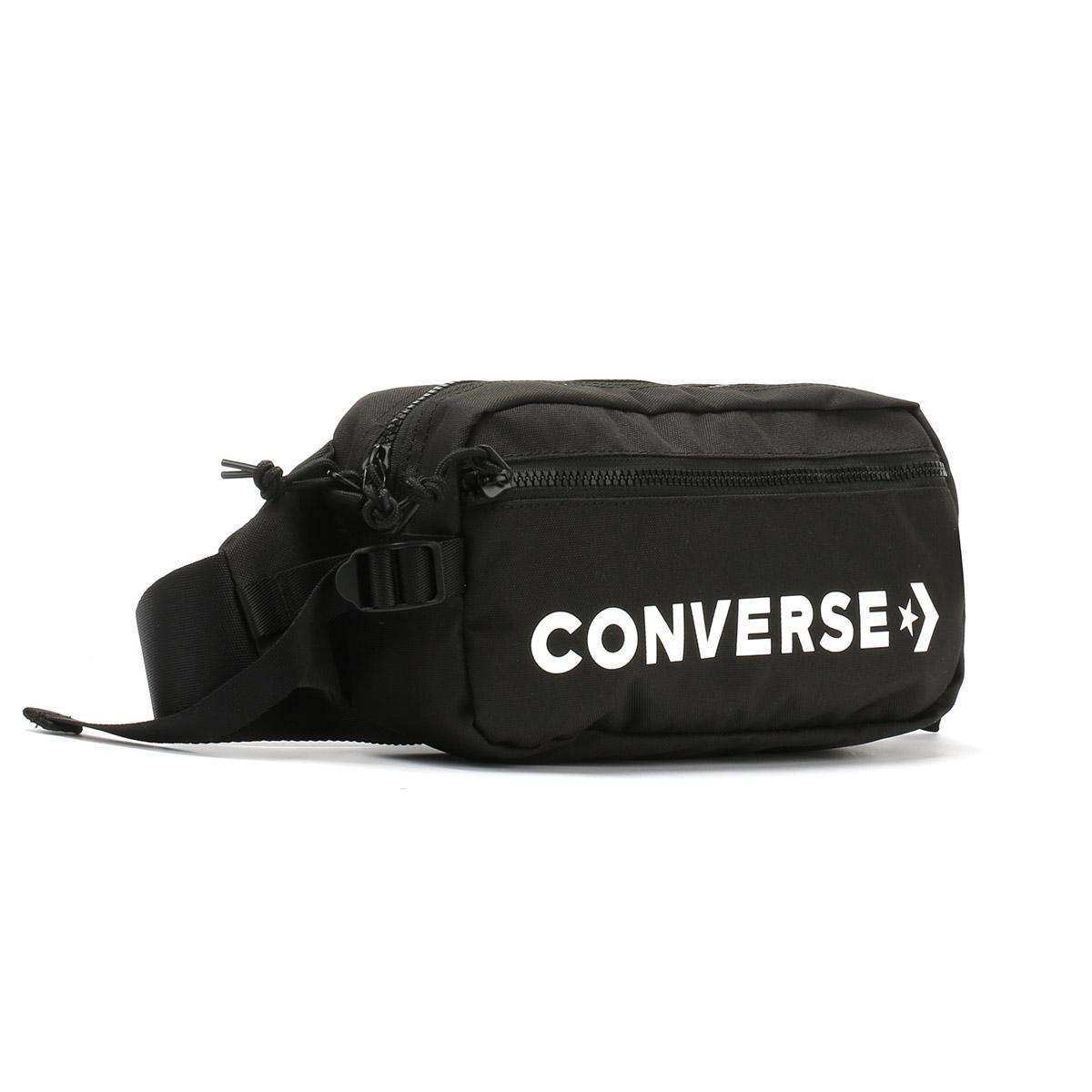 565dabf173 Lyst - Converse Black   White Fast Pack Sling Bag in Black for Men