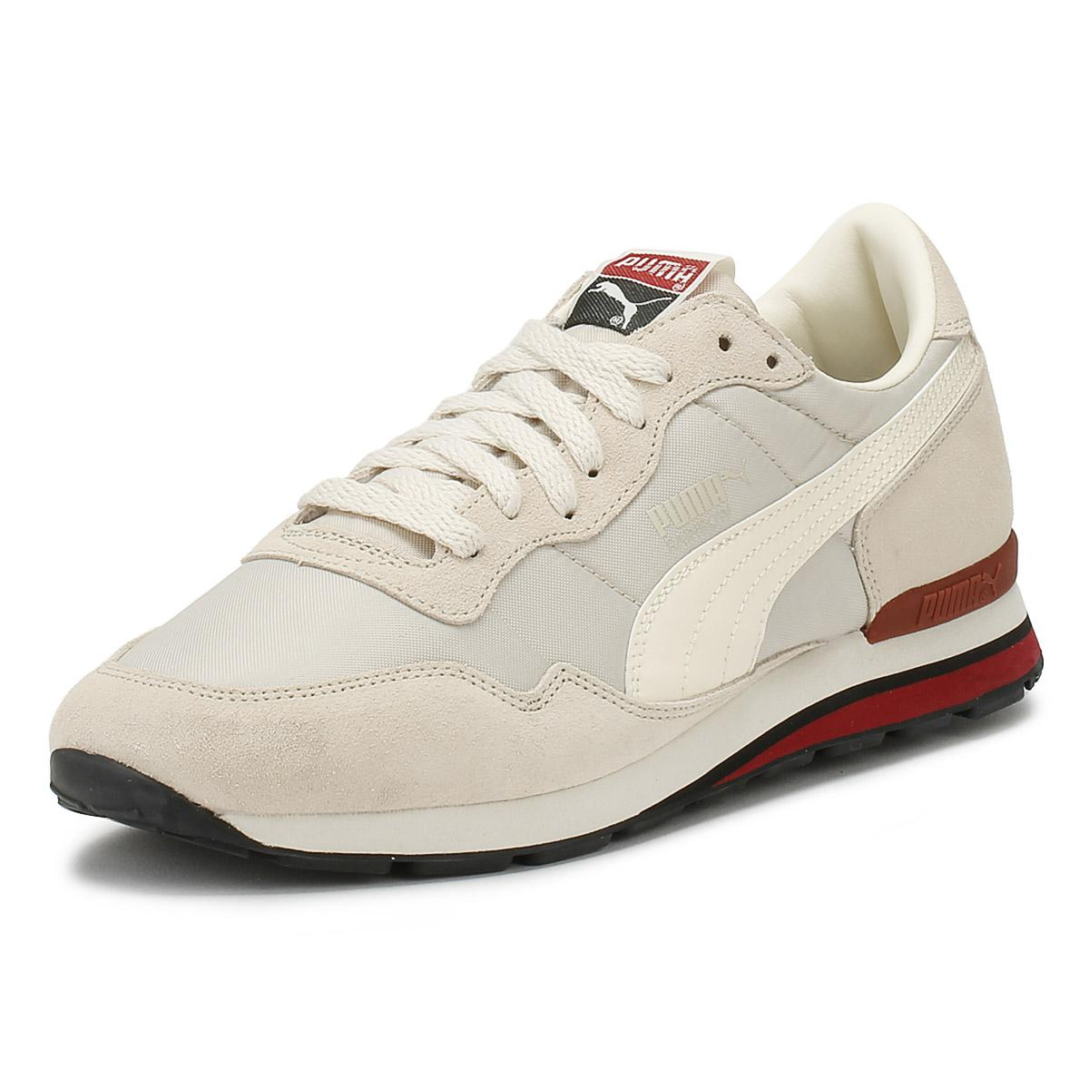 c4b29f4aaedf1f PUMA Mens Birch   Red Rainbow Sc Trainers in Natural for Men - Lyst