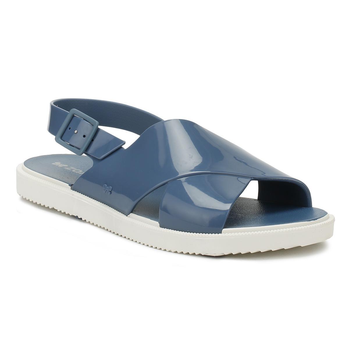 fffa4e64e5c6 Zaxy Womens Blue Match Sandals in Blue - Lyst