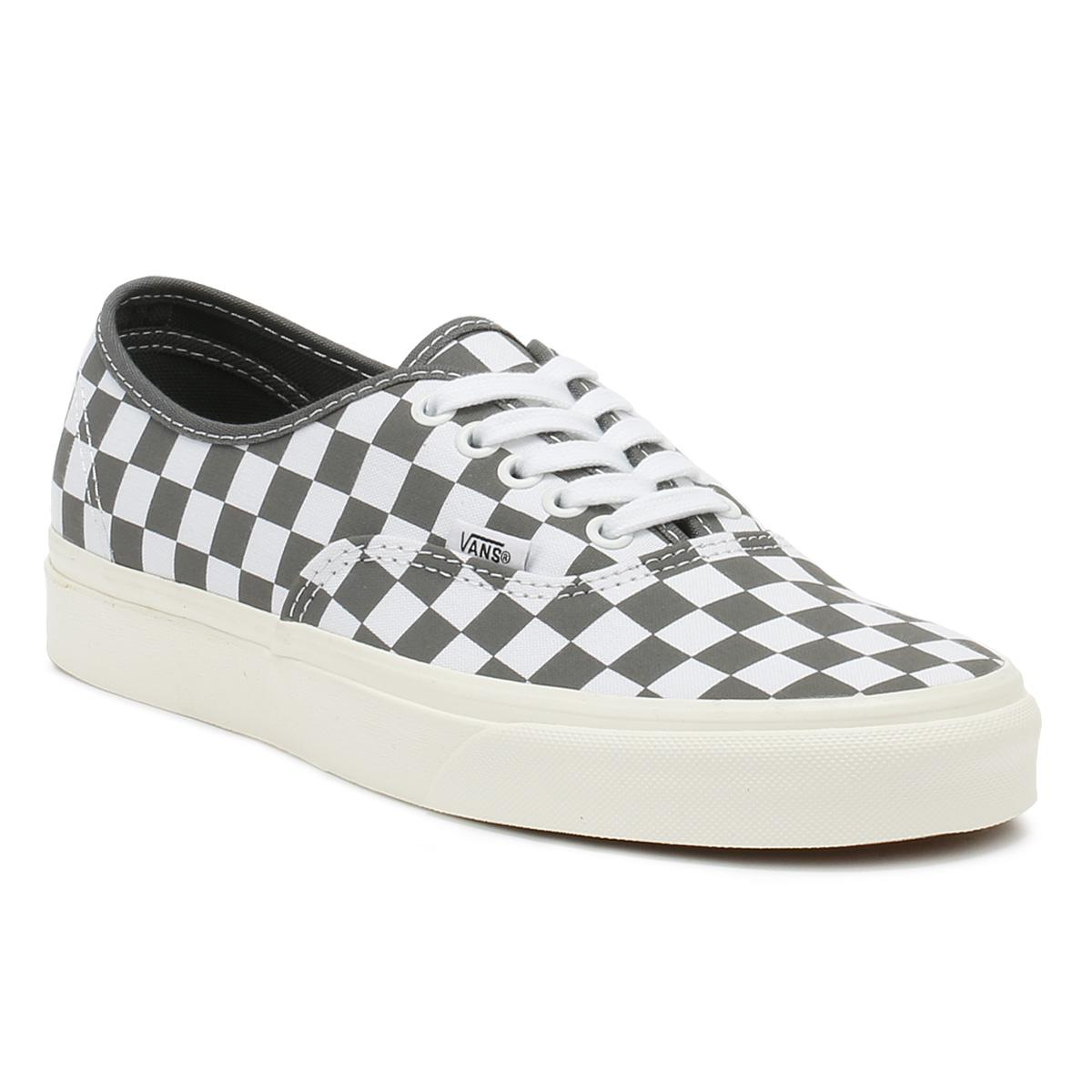 b30dfbf906 Lyst - Vans Checkerboard Authentic Shoes in Gray for Men - Save 22%