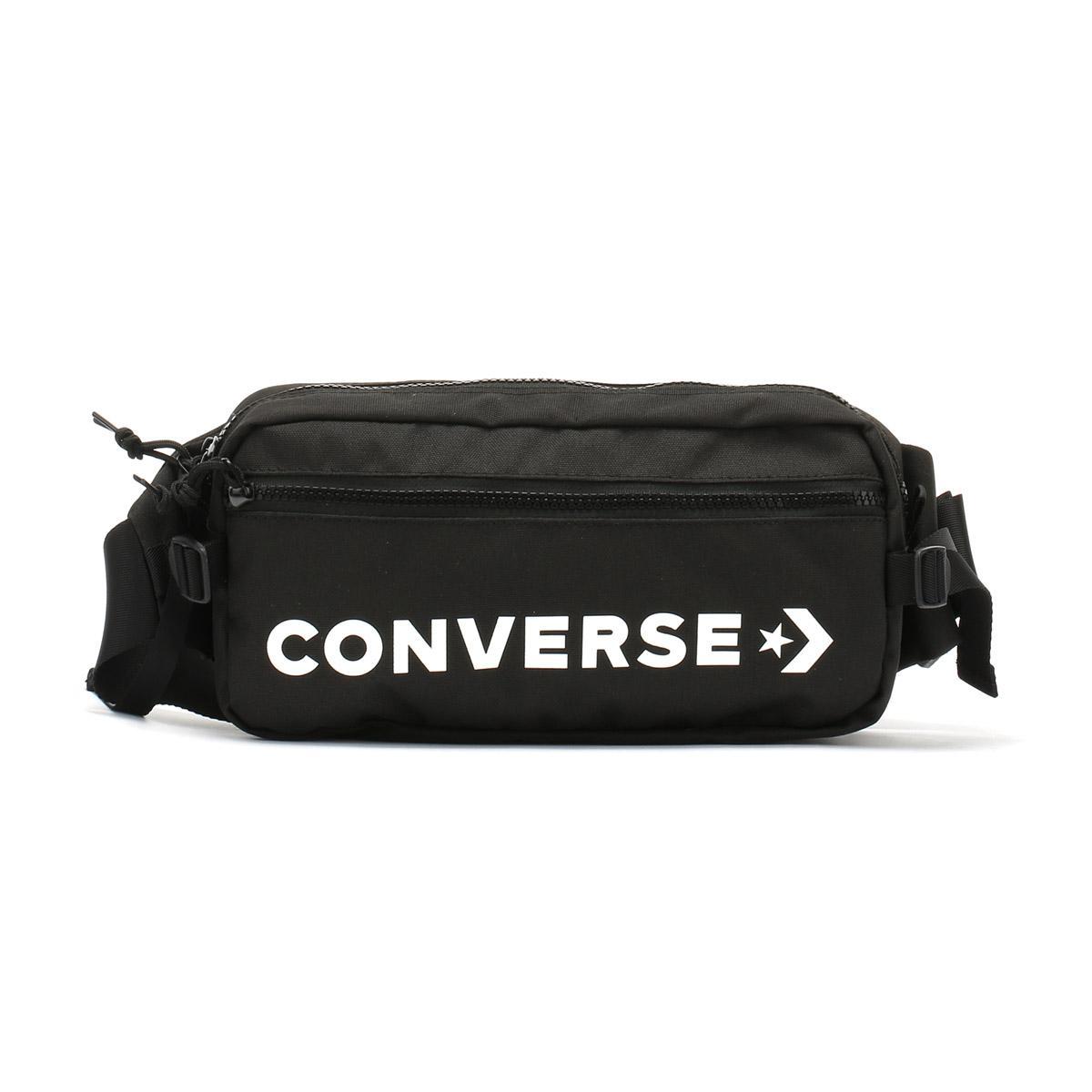 Lyst - Converse Black   White Fast Pack Sling Bag in Black for Men c682ddad8c87b